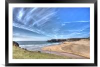 Broadhaven Bay, Pembrokeshire, West Wales, Framed Mounted Print