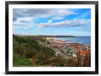 Cullen and its viaduct Moray, Scotland, Framed Mounted Print