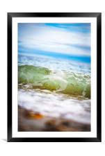 Within the Waves, Framed Mounted Print