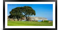Swanage Bay , Framed Mounted Print