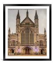 Winchester Cathedral, Framed Mounted Print