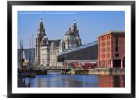 Liverpool: From Dock to Pier, Framed Mounted Print