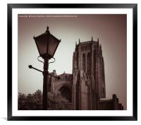 A Classic Liverpool Scene, Framed Mounted Print