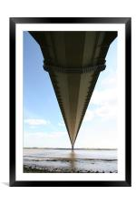 under the humber, Framed Mounted Print
