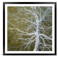 Bare Tree, Framed Mounted Print