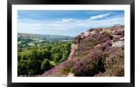 Surprise View, Hope Valley, Derbyshire, Framed Mounted Print