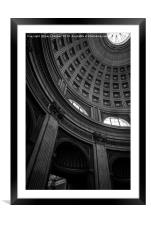 Rome Cathedral, Framed Mounted Print