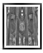 Sagrada4, Framed Mounted Print