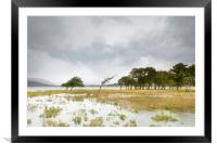 Loch Tulla, high water, Framed Mounted Print
