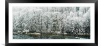 Eight Days of Falling , Framed Mounted Print