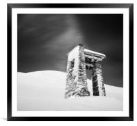Belfry, Framed Mounted Print