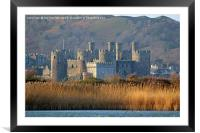 Conway Castle, North Wales., Framed Mounted Print