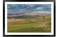 Harwood, Upper Teesdale in April, Framed Mounted Print