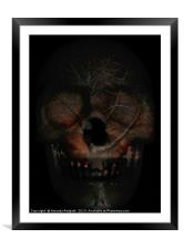 The dark side of nature, Framed Mounted Print