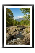 Ashness Bridge, Framed Mounted Print