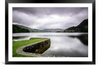 a view down Ullswater, Framed Mounted Print