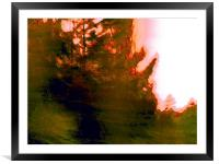 That Time Of Day , Framed Mounted Print