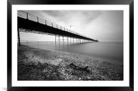 Pier at Southport, Framed Mounted Print