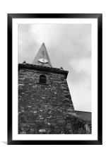 Clock Tower, Framed Mounted Print