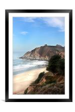 Route 1, CA, 3, Framed Mounted Print