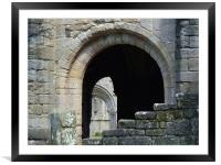 Abbey Arch , Framed Mounted Print