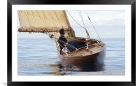 Sailing, Framed Mounted Print