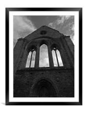 Valle Crucis Abbey II, Framed Mounted Print