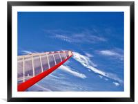 Go To Sky, Framed Mounted Print