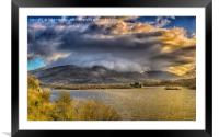 Loch Awe and Kilchurn Castle, Framed Mounted Print