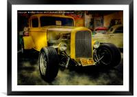 1932 Ford Hot Rod, Framed Mounted Print