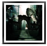 the journey, Framed Mounted Print