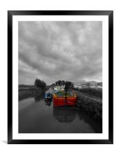 Sequana | Beverley Canal, Framed Mounted Print