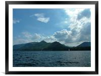 Catbells, Framed Mounted Print