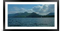 Derwent Water & Catbells, Framed Mounted Print