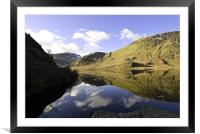 Down Crummock Water, Framed Mounted Print