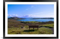 A View of the Summer Isles, Framed Mounted Print