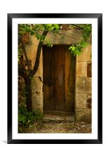 The Secret Within, Framed Mounted Print
