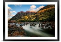 A View Of Glen Coe, Framed Mounted Print