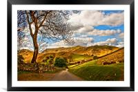 The Road To Howtown, Framed Mounted Print