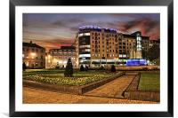 BBC Buildings 2011, Framed Mounted Print