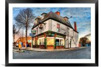 Dairycoates Inn 2014, Framed Mounted Print