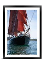 Falmouth Classic 2018, Framed Mounted Print