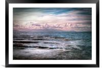 The Tide At Troon, Framed Mounted Print