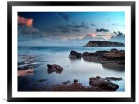 Evening Light On St. Georges Island, Framed Mounted Print
