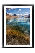 Wast Water, Framed Mounted Print