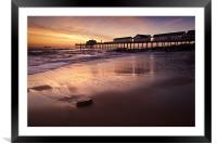 Early Morning Glow over Southwold, Framed Mounted Print