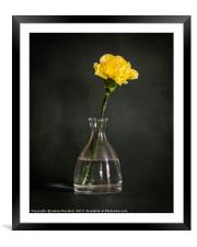 All Alone, Framed Mounted Print