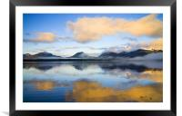 Ketchikan Sunrise, Framed Mounted Print