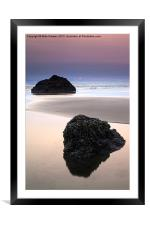Second Rock from the Sun, Framed Mounted Print