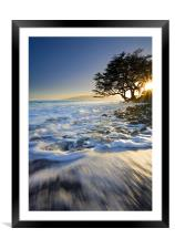 Swept out to Sea, Framed Mounted Print